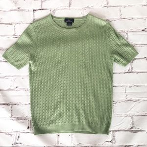 Brooks Brothers 346 silk blend sweater size large